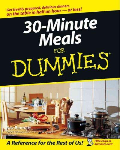 30-Minute Meals for Dummies (Paperback)
