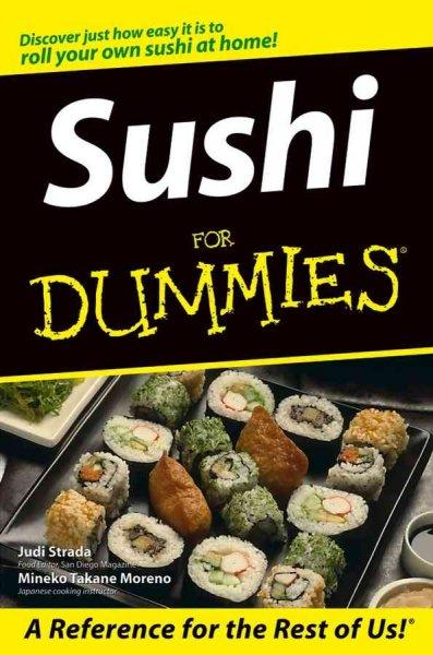 Sushi for Dummies (Paperback)
