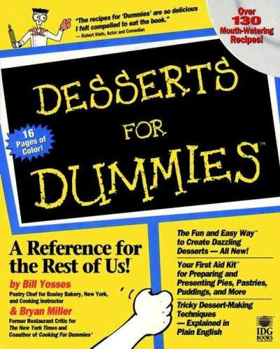 Desserts for Dummies (Paperback)