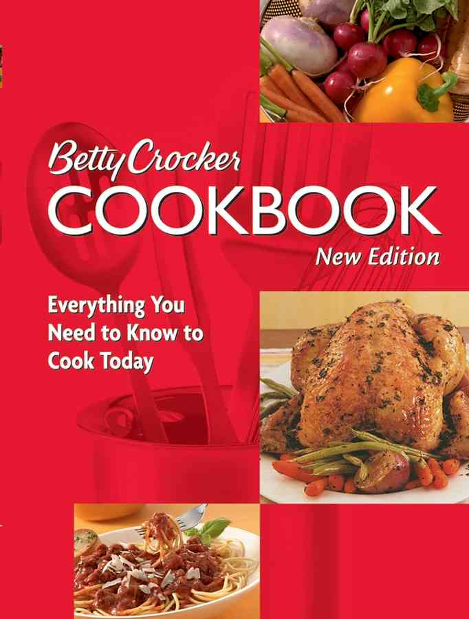Betty Crocker Cookbook: Everything You Need to Know to Cook Today (Paperback)
