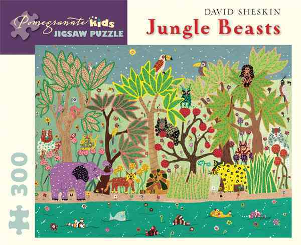 David Sheskin - Jungle Beasts: 300 Piece Puzzle (General merchandise)