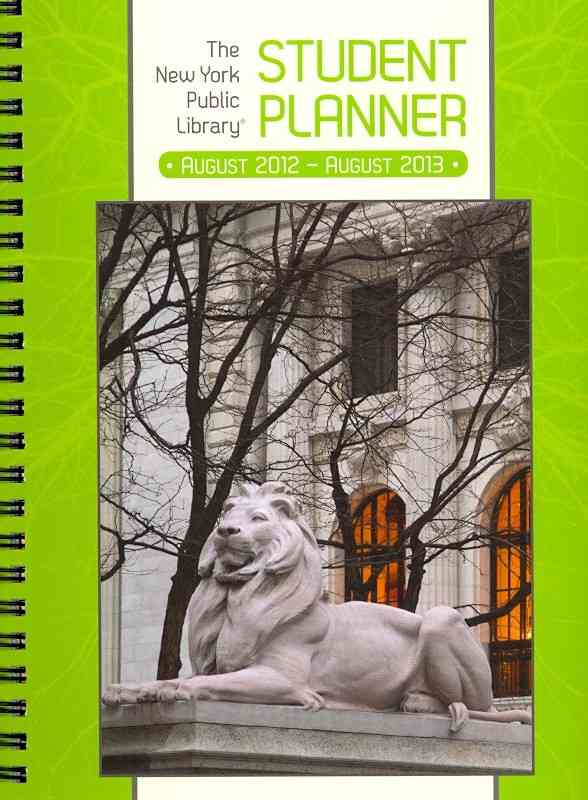 The New York Public Library Student Planner 2013 Calendar