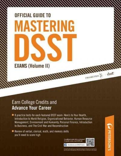 Peterson's Official Guide to Mastering Dsst Exams (Paperback)