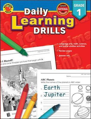 Daily Learning Drills: Grade 1 (Paperback)