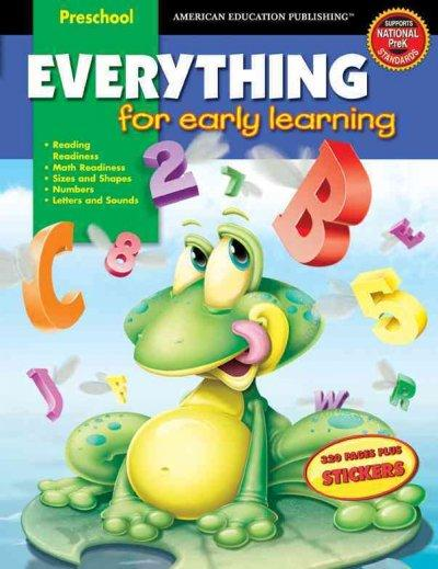 Everything For Early Learning, Preschool (Paperback) - Thumbnail 0