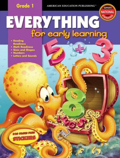 Everything For Early Learning, Grade 1 (Paperback)