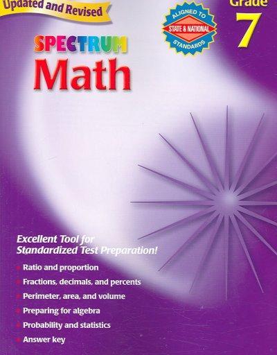 Math: Grade 7 (Paperback)