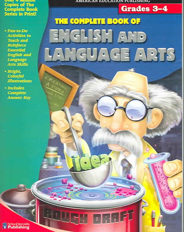 The Complete Book of English and Language Arts, Grades 3-4 (Paperback)