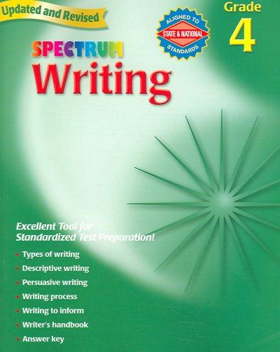 Spectrum Writing: Grade 4 (Paperback)