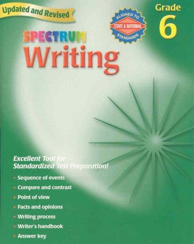 Spectrum Writing, Grade 6 (Paperback)