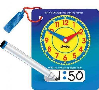 Wipe and Write Judy Clock (Toy)