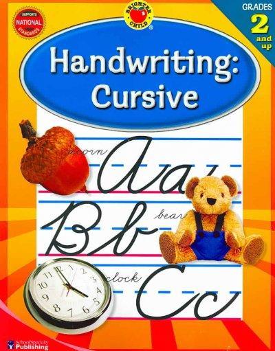 Brighter Child Handwriting: Cursive (Paperback)