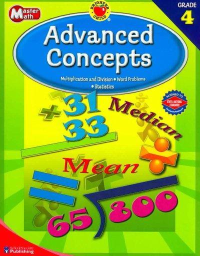 Brighter Child Master Math Advanced Concepts, Grade 4 (Paperback)