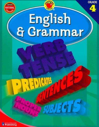 Brighter Child English And Grammar, Grade 4 (Paperback)