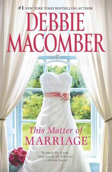 This Matter of Marriage (Paperback)
