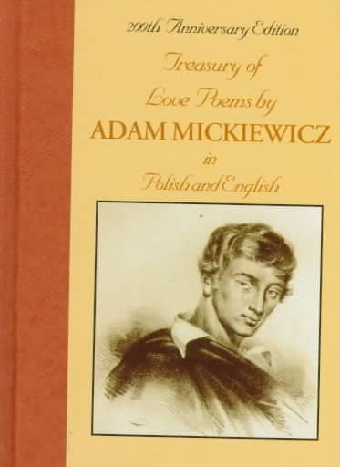 Treasury of Love Poems by Adam Mickiewicz (Hardcover)
