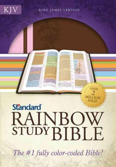 Holy Bible: King James Version Duotone Brown/Pink (Paperback)