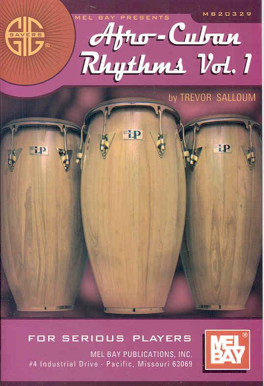 Gig Savers:Afro Cuban Rhythms Vol. 1:A Basic Guide(Paperback / softback)