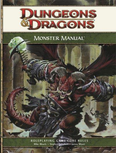 Monster Manual: Roleplaying Game Core Rules (Hardcover) - Thumbnail 0