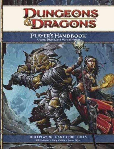Player's Handbook: Arcane, Divine, and Martial Heroes: Roleplaying Game Core Rules (Hardcover) - Thumbnail 0