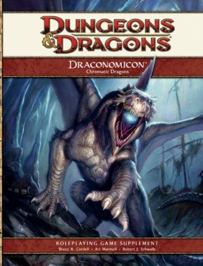 Draconomicon: Chromatic Dragons (Hardcover)