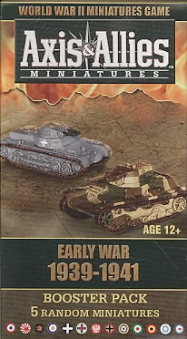 Axis & Allies Early War 1939 - 1941 Booster: An Axis & Allies Miniatures Game Expansion (Toy)