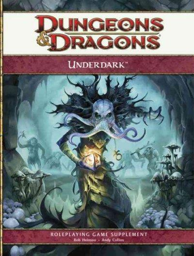 Underdark: Roleplaying Game Supplement (Hardcover) - Thumbnail 0