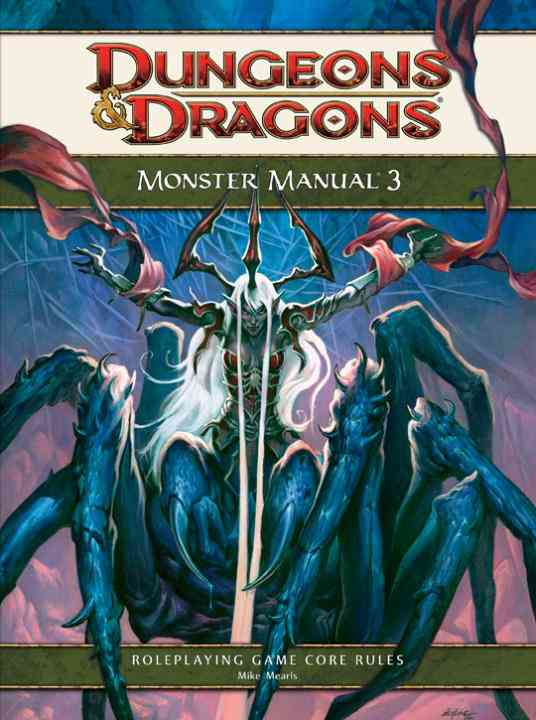 Monster Manual 3: Roleplaying Game Core Rules (Hardcover)