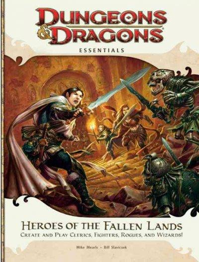 Heroes of the Fallen Lands: Create and Play Clerics, Fighters, Rogues, and Wizards! (Paperback) - Thumbnail 0