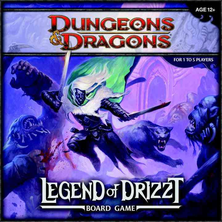 Legend of Drizzt: A Dungeons & Dragons Board Game (Game) - Thumbnail 0