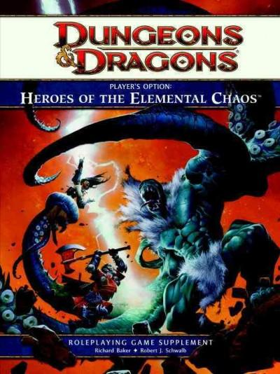 Player's Option: Heroes Of The Elemental Chaos (Hardcover)