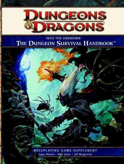 Into the Unknown:: The Dungeon Survival Handbook, Roleplaying Game Supplement (Hardcover) - Thumbnail 0