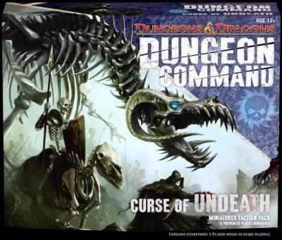 Dungeon Command: Curse of Undeath: A Dungeons and Dragons Expansion Pack (Game) - Thumbnail 0