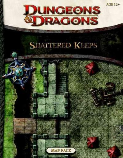 Shattered Keeps Map Pack (Paperback)