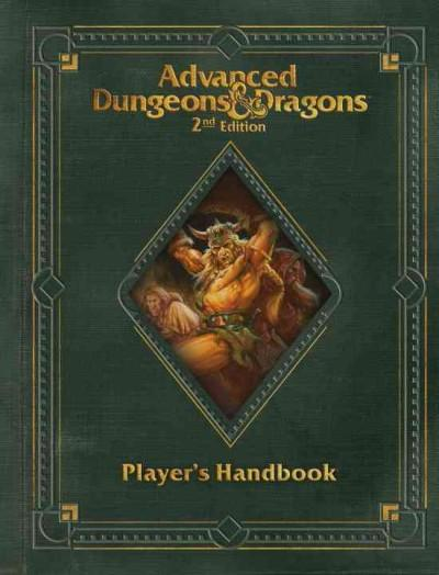 Advanced Dungeons & Dragons Player's Handbook (Hardcover) - Thumbnail 0