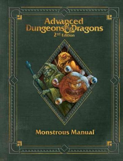 Advanced Dungeons & Dragons Monstrous Manual (Hardcover) - Thumbnail 0