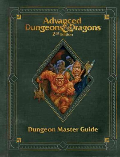 Advanced Dungeons & Dragons Dungeon Master Guide (Hardcover) - Thumbnail 0
