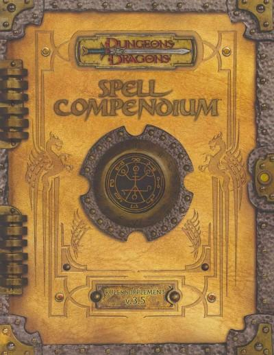 Dungeons & Dragons Spell Compendium (Hardcover)