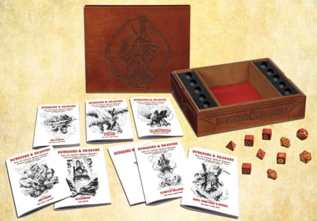 The Original Dungeons & Dragons Medieval Fantasy Wargame (Hardcover)