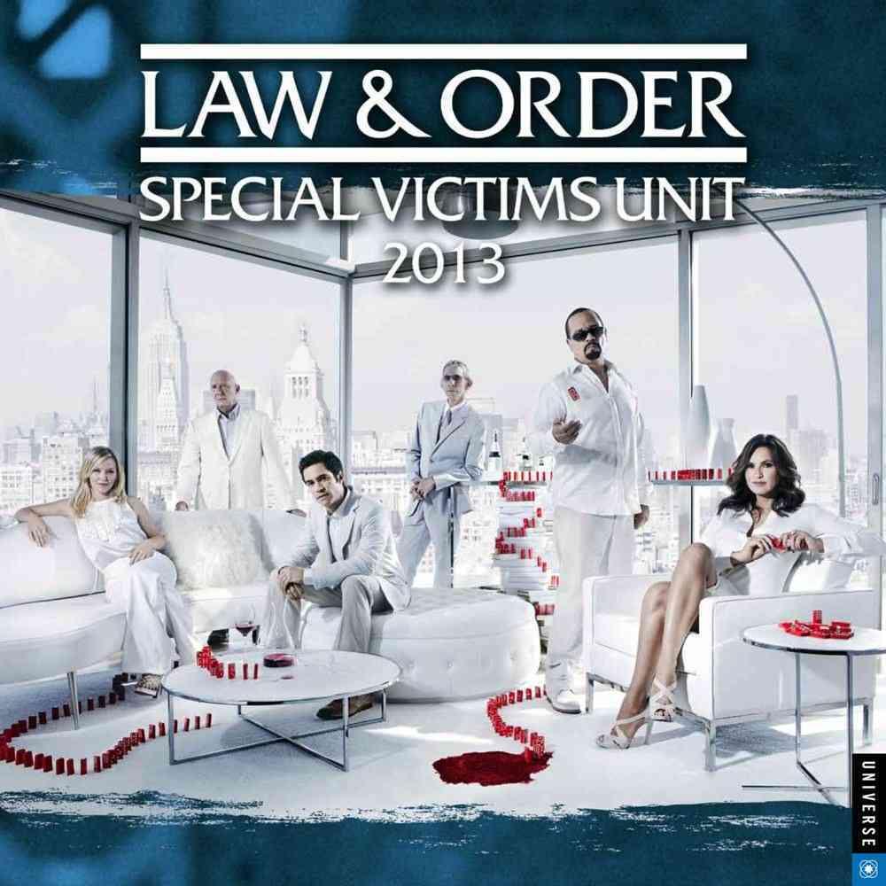 Law & Order Special Victims Unit 2013 Calendar