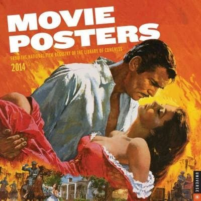 Movie Posters 2014 Calendar: From the National Film Registry of the Library of Congress (Calendar)