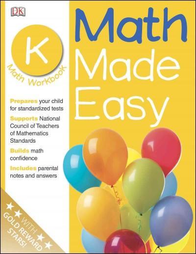 Math Made Easy: Kindergarten (Paperback)
