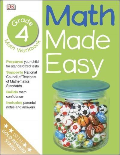 Math Made Easy: Grade 4 (Paperback)