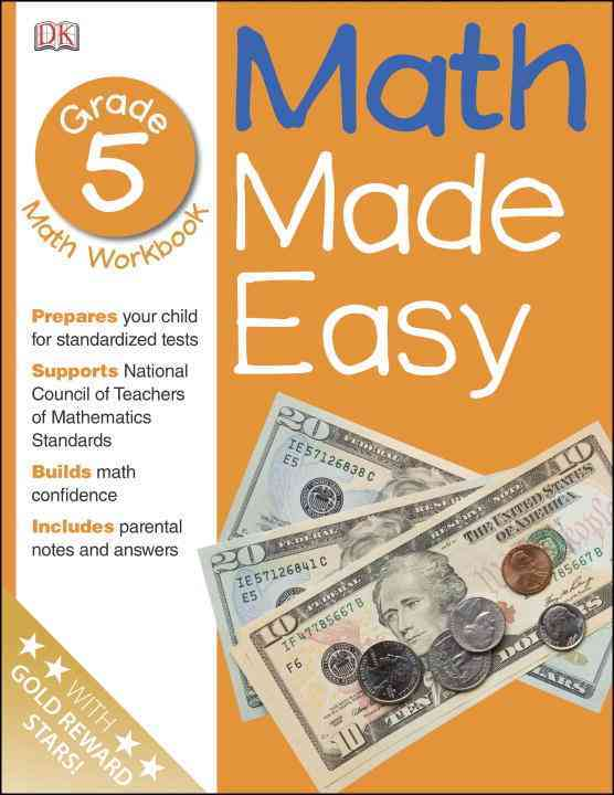 Math Made Easy: Grade 5 (Paperback)