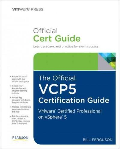 The Official Vcp5 Study Guide (Hardcover)