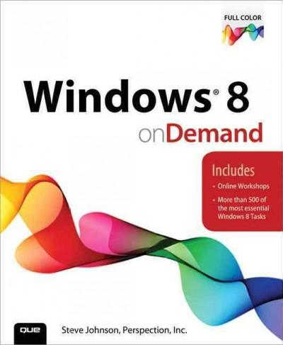 Windows 8 On Demand (Paperback) - Thumbnail 0