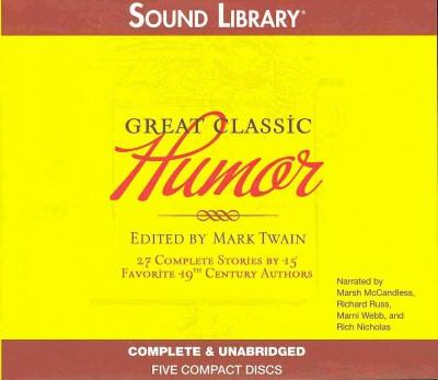 Great Classic Humor (CD-Audio)