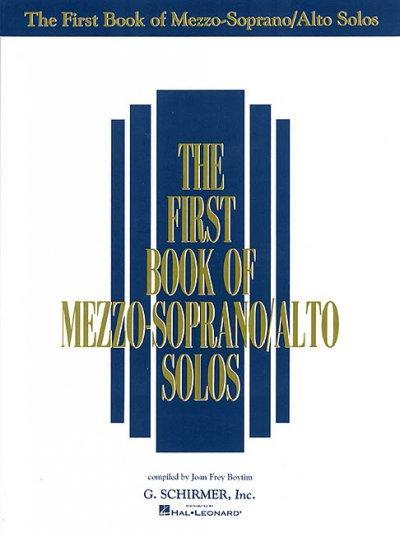 The First Book of Mezzo-soprano/Alto Solos (Paperback)