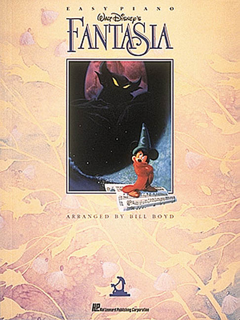 Walt Disney's Fantasia: Easy Piano (Paperback)