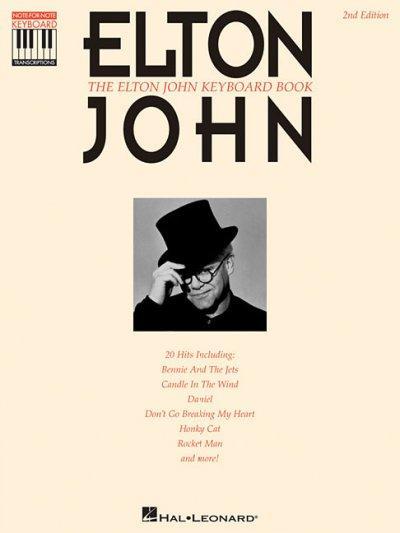 Elton John Keyboard Book (Paperback)